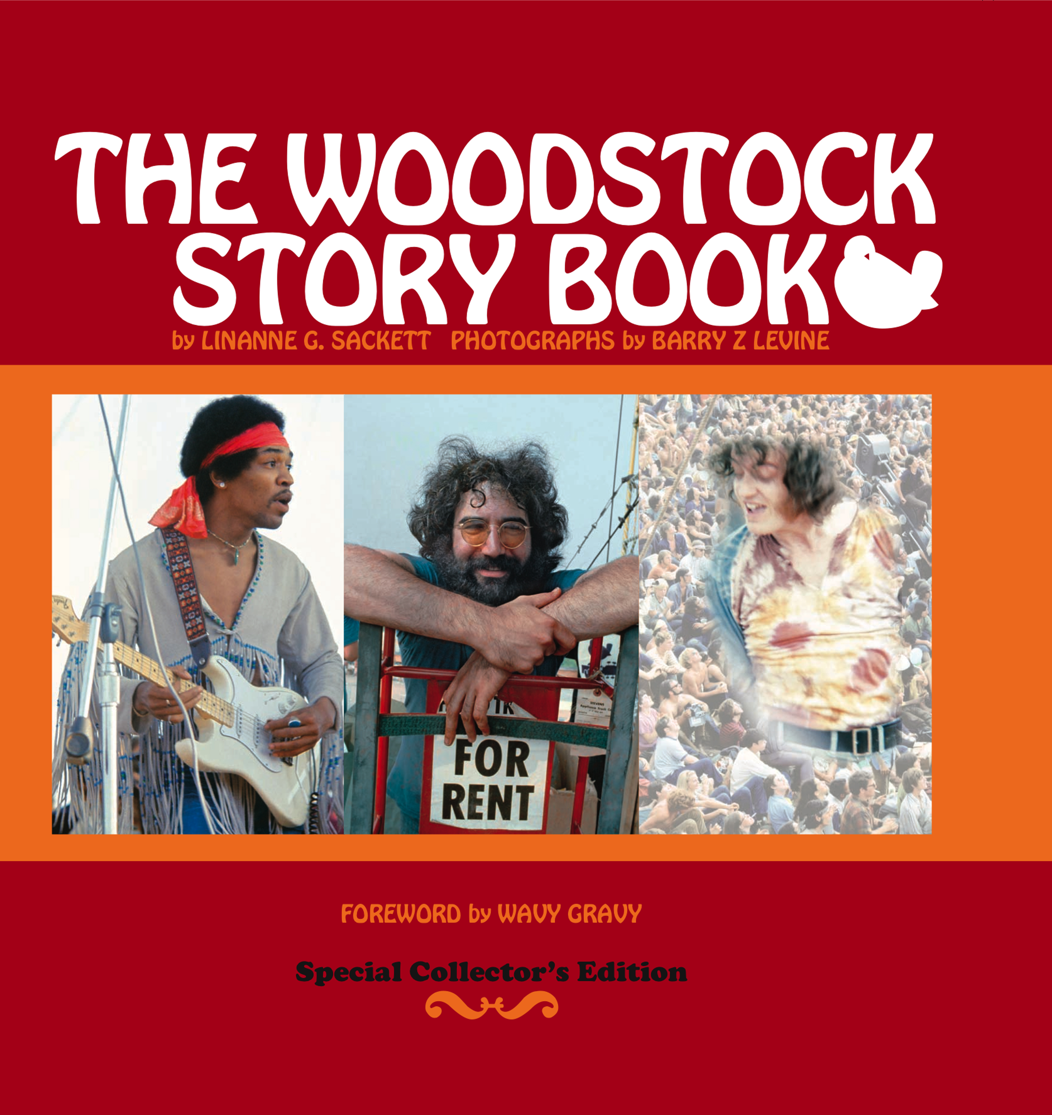 a Book Commemorating the Woodstock Festival 1969, Copyright Barry Z Levine and Linanne G Sackett all rights reserved
