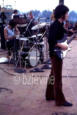 Canned Heat at Woodstock 1969 copyright Barry Z Levine Woodstock Photographer, all rights reserved