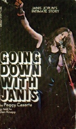 Janis Jpoplin Biography featues Barry Z Levine Photograph from Woodstock on back cover.